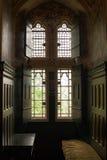 Château rouge Pays de Galles Image stock