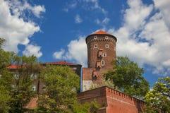 Château royal à Cracovie Image libre de droits