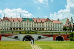 Château royal à Varsovie Photo libre de droits