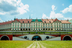 Château royal à Varsovie, Image stock
