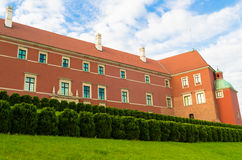 Château royal à Varsovie, Pologne Images stock