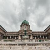Château royal de Budapest hungary photo stock