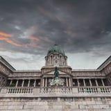 Château royal de Budapest hungary photos libres de droits