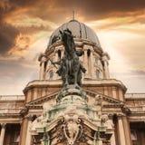 Château royal de Budapest hungary images stock