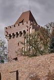 Château royal reconstruit par tour image libre de droits