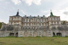 Château ruiné de Pidhirtsi en Ukraine occidentale Photo libre de droits
