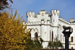 Château Rusovce, Slovaquie de Forgoten Photographie stock libre de droits