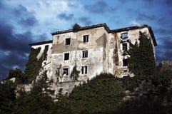 Château sinistre photo libre de droits