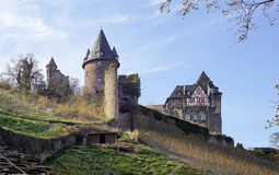 Château Stahleck en Allemagne Photo libre de droits