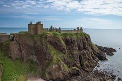 Château Stonehaven Ecosse R-U de Dunnotar Images stock