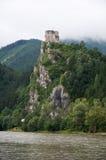 Château Strecno Photo libre de droits