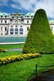 Château supérieur de belvédère, Vienne image stock