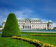 Château supérieur de belvédère, Vienne photographie stock libre de droits