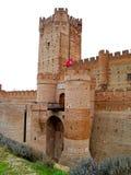 Château sur la Médina del Campo, Espagne images libres de droits