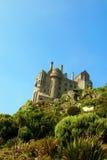 Château sur le dessus de la montagne Photos libres de droits