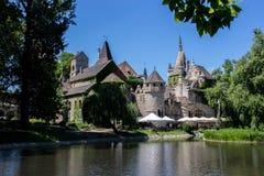 Château sur le rivage Photographie stock libre de droits