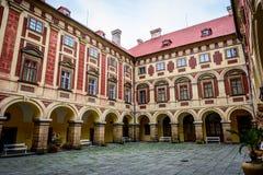 Château tchèque Libochovice photos stock