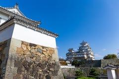 Château traditionnel japonais de Himeji Images libres de droits