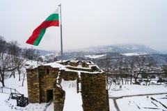 Château Tsarevets de Veliko Tarnovo Photos libres de droits