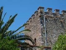 Château vénitien dans Butrint, Albanie Photo stock
