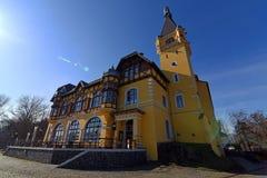 Château Vetruse dans Usti NAD Labem Photos stock