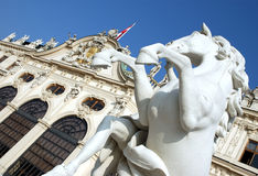 Château Vienne de belvédère photos libres de droits