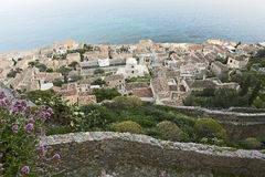 Château-ville grecque Photos stock