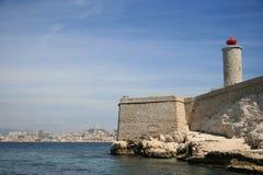 Châteaud'if baken, Marseille, Frankrijk Royalty-vrije Stock Fotografie