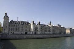 Châteaux à Paris Photos stock