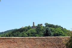 2 châteaux Images stock