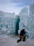 Châteaux de glace Image stock