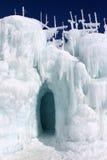 Châteaux de glace de Silverthorne Image stock