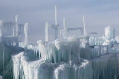 Châteaux de glace de Silverthorne Photo stock