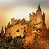 Châteaux de l'Espagne Photo stock