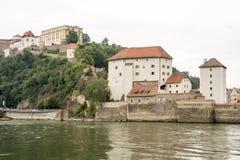 Châteaux de Passau Photo libre de droits