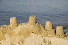 Châteaux de sable Photo libre de droits