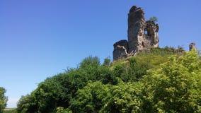 Châteaux des Frances : Château-sur-Epte Images libres de droits