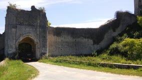 Châteaux des Frances : Château-sur-Epte Photographie stock libre de droits