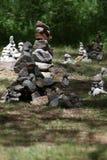 Châteaux en pierre Photo stock