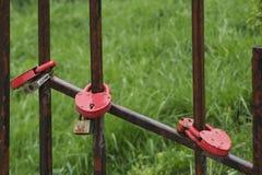 Châteaux sur la barrière, comme symbole d'une union forte, Image libre de droits