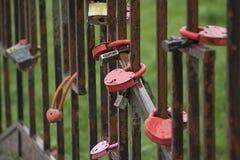 Châteaux sur la barrière, comme symbole d'une union forte, Photo libre de droits