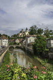 Châtillon-sur-Сена Стоковое Изображение