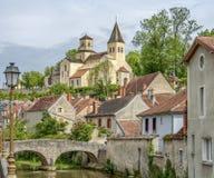 Châtillon-sur-zegen royalty-vrije stock foto