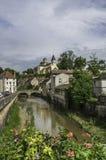 Châtillon-sur-zegen Stock Afbeelding
