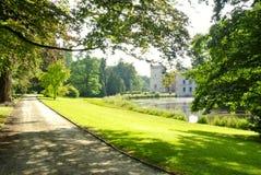 Château Bruxelles botanic garden Royalty Free Stock Photography