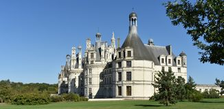 Château de Chambord - França foto de stock royalty free