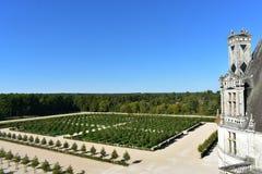 Château DE Chambord - Frankrijk royalty-vrije stock afbeelding