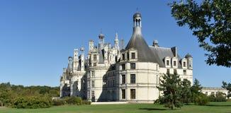 Château de Chambord - Frankrike royaltyfri foto