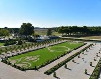 Château de Chambord - Frankrike arkivbild