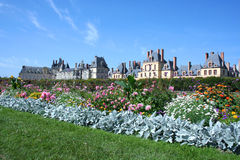 Palace Fontainebleau Stock Images